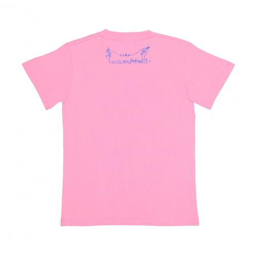 爽やかなふりした中二病 Tシャツ《ピンク》