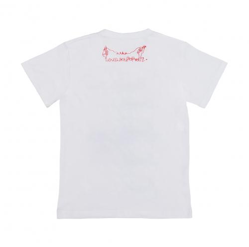 爽やかなふりした中二病 Tシャツ《白》