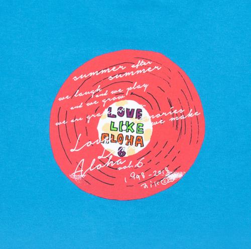 ロマンチックレコードTシャツ