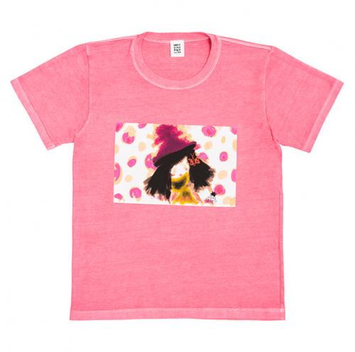 おんなのこTシャツ《ピンク》
