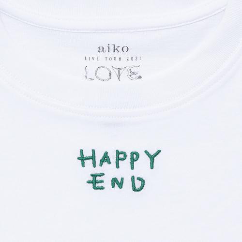 HAPPY END Tシャツ(白)
