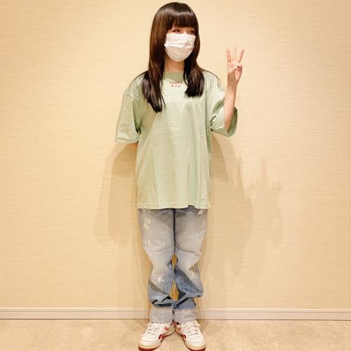 HAPPY END Tシャツ(グリーン)